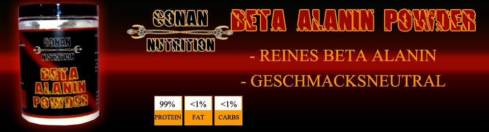Banner Conan Nutrition Beta Alanin