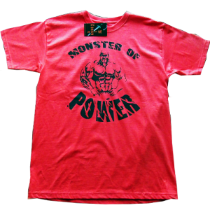 Conan Wear T-shirt Monster of Power rot