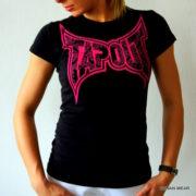 Tapout Woman T-Shirt Logo Pink