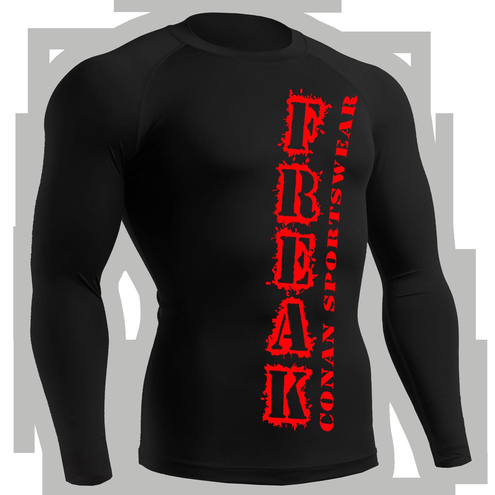 kompressions-shirt-freak-red