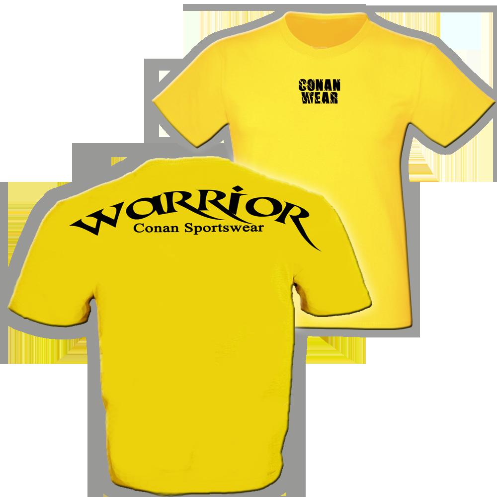 t-shirt-warrior-gelb-b