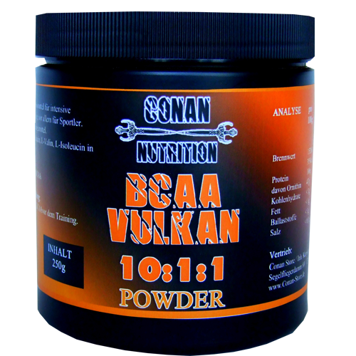 BCAA Vulkan Powder Conan Nutrition