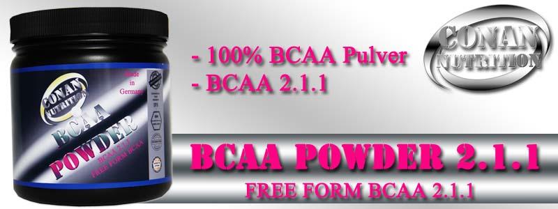 Conan Nutrition BCAA POWDER Banner