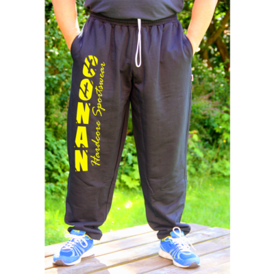Conan Wear Bodybuilding Hose Conan Black Yellow 1000