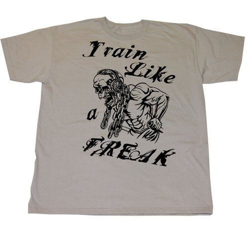 Conan Wear T-Shirt Train Like A Freak grau