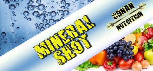 Mineral Shot Conan Nutrition Paket