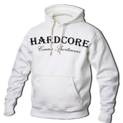 CONAN WEAR Sweat Pullover HARDCORE weiss