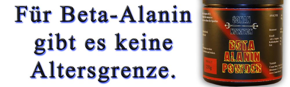 FÜR BETA-ALANIN GIBT ES KEINE ALTERSGRENZE.