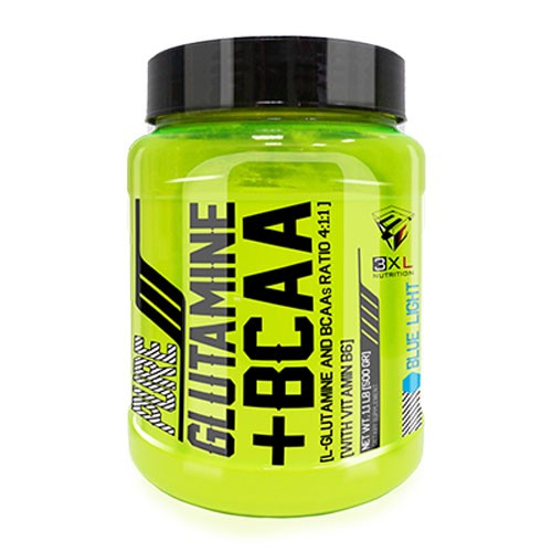 3xl nutrition glutamine bcaa