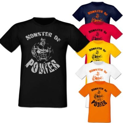 CONAN WEAR T-SHIRT MONSTER OF POWER Gruppe