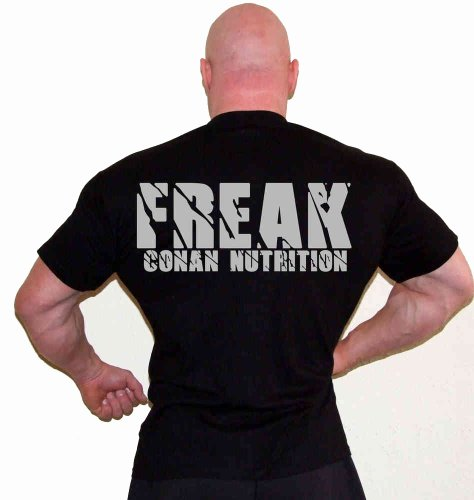Conan Wear t-shirt-freak schwarz