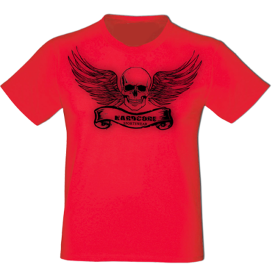 T-shirt Hardcore rot