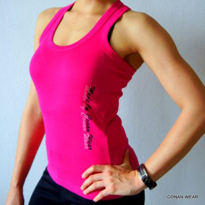 RED SONJA WOMEN´S TANK TOP Sportswear pink 2