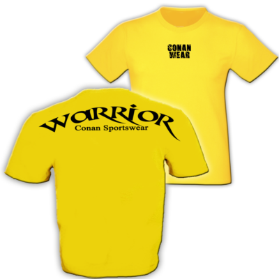 t-shirt-warrior-gelb-b