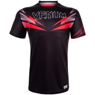 VENUM-TSHIRT-SHARP BLACK RED