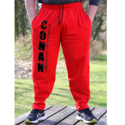 CONNA WEAR BODYBUILDING HOSE CONAN RED 1000