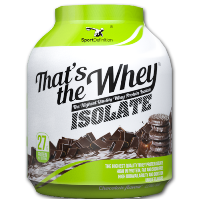SPORT DEFINITION THATS THE WHEY ISOLATE