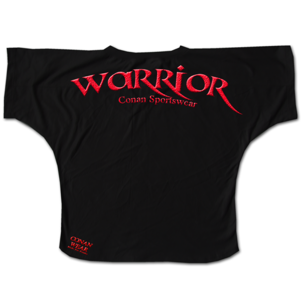BIG SHIRT WARRIOR BLACK 1