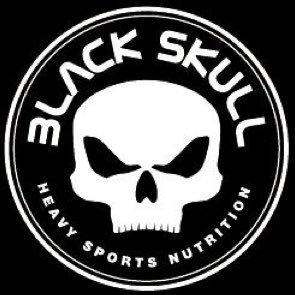 Black skull Nutrition Logo