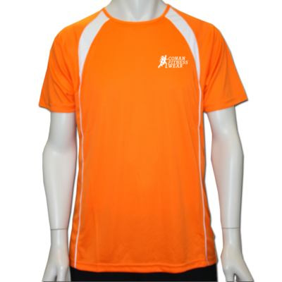 CFW FITNESS SHIRT ORANGE 1