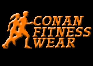 Conan Fitness Wear Logo Quer