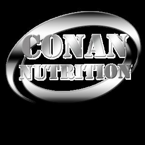 CONAN NUTRITION LOGO SILBER