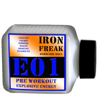 IRON FREAK E01 EXPLOSIVE POWER